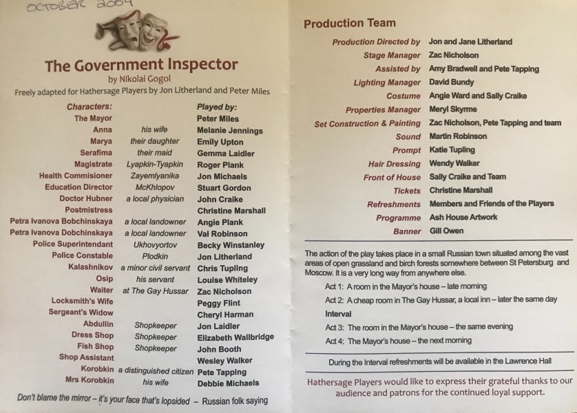 The Government Inspector Image